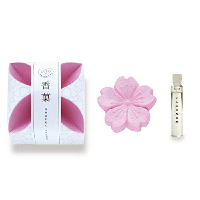 香菓 (かぐのみ) さくら形(桜色)1入 オイル付 【 あす楽 】【 日本香堂 香菓 (かぐのみ) 】