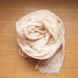 有机紫外切围巾图片印花棉布阿拉伯式花纹橙色