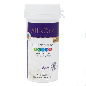 AllisOne バイオケミックティッシュソルト ピュアシナジー 60錠 Pure Synergy 日本国内正規品 【 あす楽 】 【 ミネラル ミネラルソルト バイオケミックティッシュソルト ティッシュソルト Biochemic Tisue Salts 】