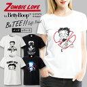 ゾンビー ラブ by ベティー ブープ(TM) Tシャツ メンズ サイズ S M L LL XL 半袖 綿10...