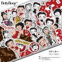 ステッカー キャラクター ベティー ブープ(TM) ベティーちゃん グッズ シール 正規品 Betty Boop(TM) 送料無料 おしゃれ 可愛い 人気