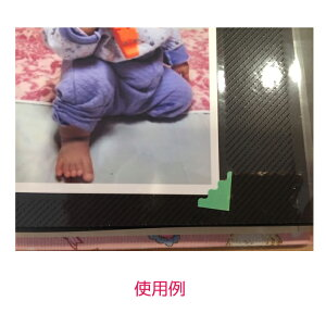 【名入れ無料】【色・中シート・中枠選べるカラー】かわいい窓付き写真バインダー(箱入り、ビニールカバー付き)