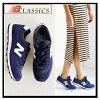 696 NEW BALANCE new balance WL696SHC Womens Shoes Sneakers NAVY/WHITE (Navy/white) ENDLESS TRIP (endless trips)