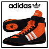 adidas (adidas) COMBAT SPEED 4 WRESTLING SHOES combat speed 4 men's Wrestling Shoes ORANGE/BLACK/WHITE orange / black / white (M18782) prompt can be sent