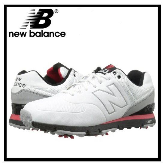 【希少!大人気!】【入手困難】【メンズ ゴルフシューズ】NEW BALANCE (ニューバランス) NBG574 (WHITE/RED) 574 ホワイト/レッド 【幅(D)(2E)(4E)】ENDLESS TRIP(エンドレス トリップ)