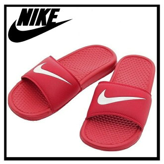NIKE (Nike) BENASSI SWOOSH (Benassi Swoosh) healthy shower Sandals (UNIVERSITY RED/WHITE) red/white (312618 610) ENDLESS TRIP (endless trips)