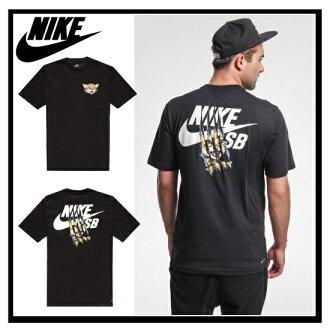 NIKE SB (Nike) CAT SCRARCH DRI-FIT TEE (CAT scratch dry fit) 816369 T shirt BLACK/WHITE (black/white) 010 ENDLESS TRIP (endless trips)