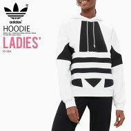 【大人気!希少!レディースサイズ】adidas(アディダス)WOMENSTREFOILHOODIE(トレフォイルフーディー)パーカーロゴプルオーバーBLACK(ブラック)CE2408ENDLESSTRIP