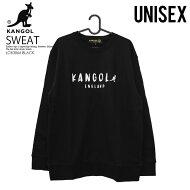【希少!入手困難!】KANGOL(カンゴール)KGONEPOINTCREWSWEAT(ワンポイントクルースウェット)メンズレディースユニセックススウェットシャツトレーナーLCK0043BLACK(ブラック)