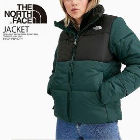 【希少! 大人気!】THE NORTH FACE (ノースフェイス) WOMEN'S SAIKURU JACKET (ウィメンズ サイクル ジャケット) レディース 中綿ジャケット アウター 緑×黒 PONDEROSA GREEN (グリーン) NF0A47BMD7V