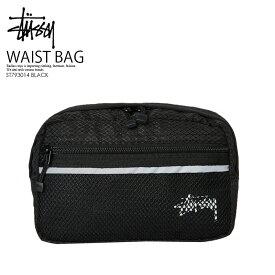 【日本未入荷! 希少! 】 STUSSY (ステューシー)STOCK RIPSTOP WAIST BAG (ストック リップストップ ウエスト バッグ) ボディバッグ ウエストポーチ BLACK (ブラック) ST793014 BLACK