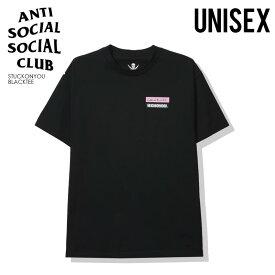 【日本未入荷!入手困難!】ANTI SOCIAL SOCIAL CLUB (アンチソーシャルソーシャルクラブ) NEIGHBORHOOD STUCK ON YOU BLACK TEE (ネイバーフッド スタック オン ユーブラック Tシャツ) トップス メンズ レディース カットソー dpd