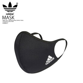 送料無料 adidas 3枚セット マスク アディダス FACE COVERS M/L(メンズサイズ) 3-PACK フェイス カバー ファッション 布マスク 黒 BLACK (ブラック) H08837 ENDLESS TRIP