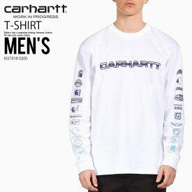 【日本未入荷!希少!】CARHARTT WIP (カーハート ダブリューアイピー) L/S LOCAL SOUND T-SHIRT (ロングスリーブ ローカル サウンド Tシャツ) カットソー Tシャツ 長袖 メンズ レディース WHITE (ホワイト) I027818 0200