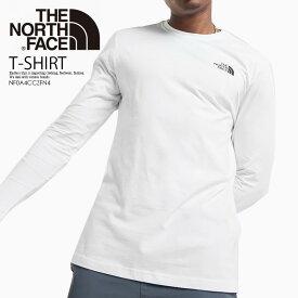 【希少!入手困難!ユニセックス】THE NORTH FACE (ノースフェイス) LONG SLEEVE ALL OVER PRINT REDBOX TEE (ロング スリーブ オール オーバー プリント レッドボックス Tシャツ) メンズ レディース カットソー トップス TNF WHITE (ホワイト) NF0A4CCZFN4 エンドレストリップ