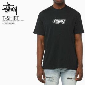 楽天スーパーSALE!【日本未入荷! 希少! ユニセックス 】 STUSSY (ステューシー)DROPPED U TEE (ドロップト Tシャツ) カットソー 半袖 トップス BLACK (ブラック) ST093003 BLACK