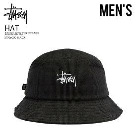 【日本未入荷! 入手困難!】 STUSSY (ステューシー) GRAFFITI CORD BUCKET HAT (グラフィティ コード バケット ハット) メンズ レディース 帽子 ハット BLACK (ブラック) ST706000 BLACK ENDLESS TRIP