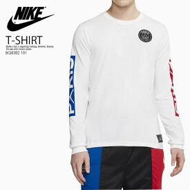 【希少! 大人気!】 NIKE(ナイキ)JORDAN PSG LONG SLEEVE T-SHIRT (ジョーダン PSG ロング スリーブ Tシャツ) ロンT トップス メンズ WHITE/UNIVERSITY RED/HYPER COBALT (ホワイト/レッド/ブルー) BQ8382 101 ENDLESS TRIP