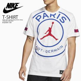 【希少! 大人気!】 NIKE(ナイキ)JORDAN PSG JUMPMAN LOGO T-SHIRT (ジョーダン PSG ジャンプマン ロゴ ティーシャツ) ジョーダン×パリ サンジェルマン コラボ Tシャツ 黒 WHITE/GAME ROYAL/UNIVERSITY RED (ホワイト/ブルー/レッド) BQ8384 100