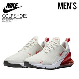 【希少! メンズ ゴルフシューズ 】 NIKE(ナイキ)AIR MAX 270 G (エアマックス 270G) メンズ スパイクレス ゴルフシューズ SAIL/MAGIC EMBER-WHITE (ホワイト/レッド) CK6483 104 ENDLESS TRIP ENDLESSTRIP エンドレストリップ