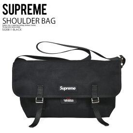 【希少!大人気!ユニセックス】Supreme (シュプリーム) DE MARTINI MESSENGER BAG (ディマティーニ メッセンジャー バッグ) ショルダーバッグ ユニセックス メンズ レディース BLACK (ブラック) SS20B11 BLACK dpd