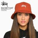 【日本未入荷! 入手困難!】 STUSSY (ステューシー) STOCK BUCKET HAT (ストック バケット ハット) メンズ 帽子 ハット…