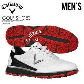 【希少! 大人気! メンズ ゴルフシューズ】 CALLAWAY (キャロウェイ) BALBOA VENT (バルボア ベント) MENS ゴルフ スパイクレス WHITE/BLACK (ブラック/ホワイト) CG102WK ENDLESS TRIP pickup