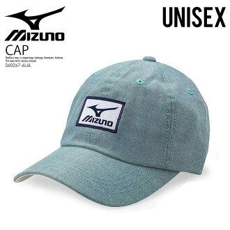 美津浓(美津浓)OXFORD GOLF CAP(牛津高尔夫球盖子)帽子人分歧D GREEN(绿色)260267-6L6L ENDLESS TRIP结束休息嘴唇