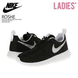 楽天お買い物マラソン 【レディース】NIKE (ナイキ)ROSHE ONE (GS) ローシー ワン ROSHE RUN (GS) ローシー ラン スニーカー BLACK/METALLIC SILVER-WHITE-WHITE ブラック (599728 007) (599728 021) ENDLESS TRIP