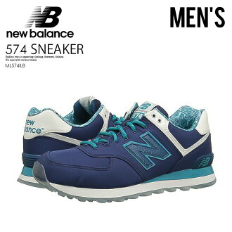NEW BALANCE 574 New Balance ML574ILB men shoes sneakers NAVY (navy) M574 ML574 ENDLESS TRIP ENDLESSTRIP end rest lip