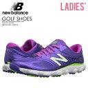 【希少!大人気!レディース ゴルフシューズ】 NEW BALANCE (ニューバランス) NBGW1001 PURPLE ゴルフ WOMENS GOLF SHOE…