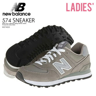 quality design a044d 5851a The sneakers of the illusion are received with a limitation of amount at  last! NEW BALANCE 574 New Balance sneakers W574GS GS Grey gray WL574  ENDLESS ...