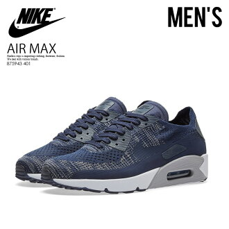 43943cccee15 ENDLESS TRIP  NIKE (Nike) AIR MAX 90 ULTRA 2.0 FLYKNIT (Air Max 90 ultra  fly knit) MENS sneakers COLLEGE NAVY COLLEGE NAVY (navy) 875943 401 ENDLESS  TRIP ...
