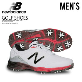 【希少!大人気!メンズ ゴルフシューズ】 NEW BALANCE (ニューバランス) NBG2004 GOLF SHOES (ゴルフ シューズ) MENS スパイク WHITE/RED (ホワイト/レッド) NBG2004WRD WHITE/RED ENDLESS TRIP ENDLESSTRIP エンドレストリップ