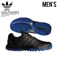 【希少!大人気!メンズゴルフシューズ】adidas(アディダス)360TRAXION(トラクション)MENSGOLFSHOESゴルフスパイクレスシューズCBLACK/DKSIMT/CROYAL(ブラック/グレー/ブルー)Q44713ENDLESSTRIPENDLESSTRIPエンドレストリップ