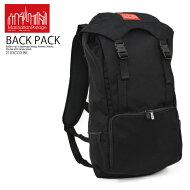 【大人気!!希少!ユニセックス】ManhattanPortage(マンハッタンポーテージ)HikerBackpack3(ヒッカーバックパック)リュックデイバッグナイロンコーデュラBLACKOS(26*48*18)ブラック2103CD3BK