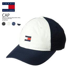 【希少!大人気!キャップ】 TOMMY HILFIGER トミー ヒルフィガー ローキャップ カーブキャップ DAD HAT FLAG GOLF CAP ゴルフ キャップ 帽子 6942965 017 (ブラック)/ 6942965 100 (ホワイト)/ 6942965 416 (ネイビー)/6942965 991 (ネイビー ホワイト)