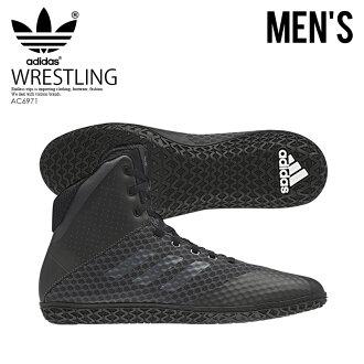 adidas (Adidas) MAT WIZARD 4 (mat Wizard) WRESTLING SHOES boxing training  CARBON NGTMET CBLACK (carbon black) AC6971 ENDLESS TRIP ENDLESSTRIP end  rest lip 589c6f30b