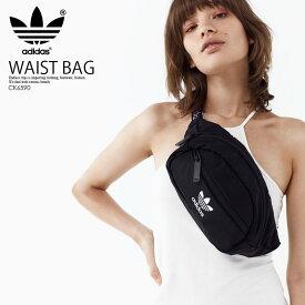 【送料無料】adidas ウエストバッグ 日本未発売 希少 海外モデル (アディダス) NATIONAL WAIST PACK (ナショナル ウエストパック) ウエストポーチ ウエストバッグ ウェストパック レディース ボディバッグ バッグ ウェストポーチ ウェストバッグ small ブラック CK6590
