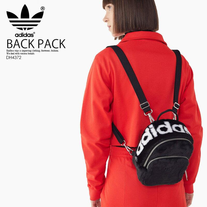 【希少! 大人気!】adidas (アディダス) MINI CLASSIC BACKPACK (ミニ クラシック バックパック) レディース デイパック リュック ミニリュック BLACK (ブラック) DH4372 ENDLESS TRIP ENDLESSTRIP エンドレストリップ