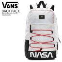 0834349eb9 VANS (station wagons) VANS X NASA SPACE VOYAGER SNAG PLUS BACKPACK (vans  NASA space Voyager snag plus backpack) rucksack D bag SPACE WHITE (space  white) ...