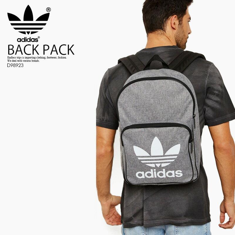 【入手困難! 人気!】adidas (アディダス) CLASSIC CASUAL BACKPACK (クラシック カジュアル バックパック) レディース デイパック リュック BLACK/WHITE (ブラック ホワイト) D98923 ENDLESS TRIP ENDLESSTRIP エンドレストリップ