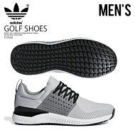 【日本未入荷!希少!メンズゴルフシューズ】adidas(アディダス)ADICROSSBOUNCE(アディクロスバウンス)MENSGOLFSHOESスパイクレスLGSOGR/GRETHR/CBLACK(グレー/ブラック)F33568ENDLESSTRIP