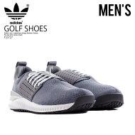 【日本未入荷!希少!メンズゴルフシューズ】adidas(アディダス)ADICROSSBOUNCE(アディクロスバウンス)MENSGOLFSHOESスパイクレスGREFOU/GRETHRFTWWHT(グレー)F33727ENDLESSTRIP