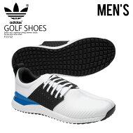 【日本未入荷!希少!メンズゴルフシューズ】adidas(アディダス)ADICROSSBOUNCE(アディクロスバウンス)MENSGOLFSHOESスパイクレスFTWWHT/CBLACK/BLUE(ホワイト)F33752ENDLESSTRIP