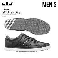 【希少!大人気!メンズゴルフシューズ】adidas(アディダス)ADICROSSIV(アディクロス)MENSGOLFSHOESスパイクレスCOREBLACK/WHITE(コアブラック/ホワイト)Q47045ENDLESSTRIPENDLESSTRIPエンドレストリップ