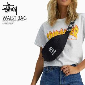 【日本未入荷! 希少! 】 STUSSY (ステューシー)CULT WAIST BAG (カルト ウエスト バッグ) メンズ レディース ボディバッグ ウエストポーチ BLACK (ブラック) ST796007 BLK ENDLESS TRIP ENDLESSTRIP エンドレストリップ