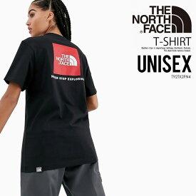 【大人気! 希少! ユニセックス】THE NORTH FACE (ノースフェイス) S/S REDBOX TEE (レッドボックス Tシャツ) メンズ レディース カットソー トップス TNF BLACK (ブラック) T92TX2JK3 エンドレストリップ