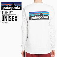 【希少!!大人気!ユニセックスサイズ】patagonia(パタゴニア)LONGSLEEVEP-6LOGORESPONSIBILITEE(ロングスリーブロゴレスポンシビリTシャツ)メンズレディースカットソーロンTトップスWHITE(ホワイト)39161-WHIエンドレストリップ