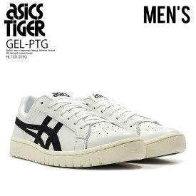 【希少!大人気!ユニセックス スニーカー】 ASICS Tiger (アシックス タイガー)GEL-PTG (ゲル ptg) WHITE/BLACK (ホワイト/ブラック) メンズ レディース HL7X0 0190 ENDLESSTRIP エンドレストリップ